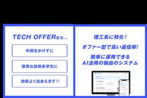 【サービス資料】ターゲットリクルーティングサービスTECH OFFER