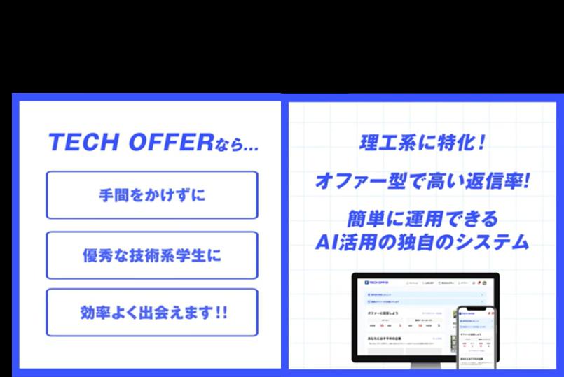 【サービス資料】ターゲットリクルーティングツールTECH OFFER